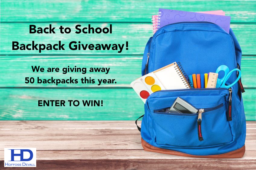 Hoffoss Devall Backpack Giveaway